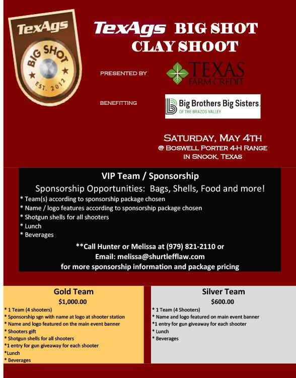 TexAgs Big Shot Clay Shoot